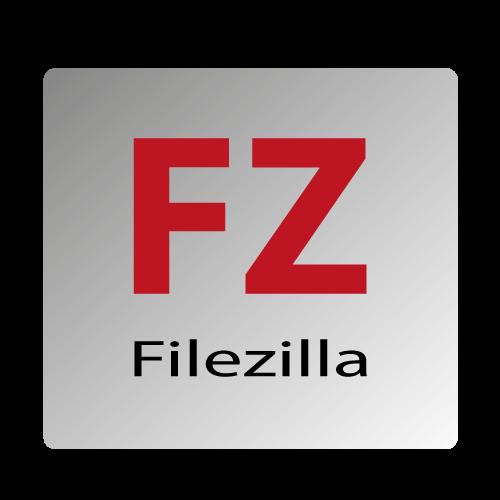 Filezilla der FTP Client