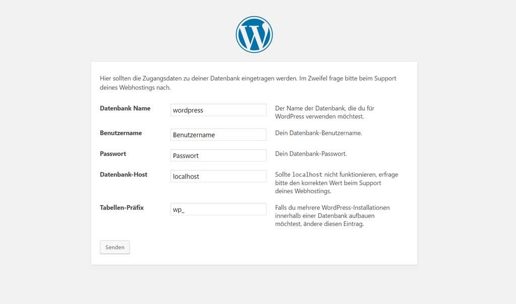 strato-wordpress-datenbank